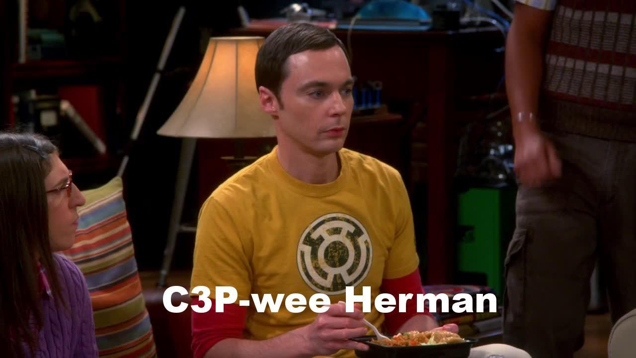 C3P-wee Herman