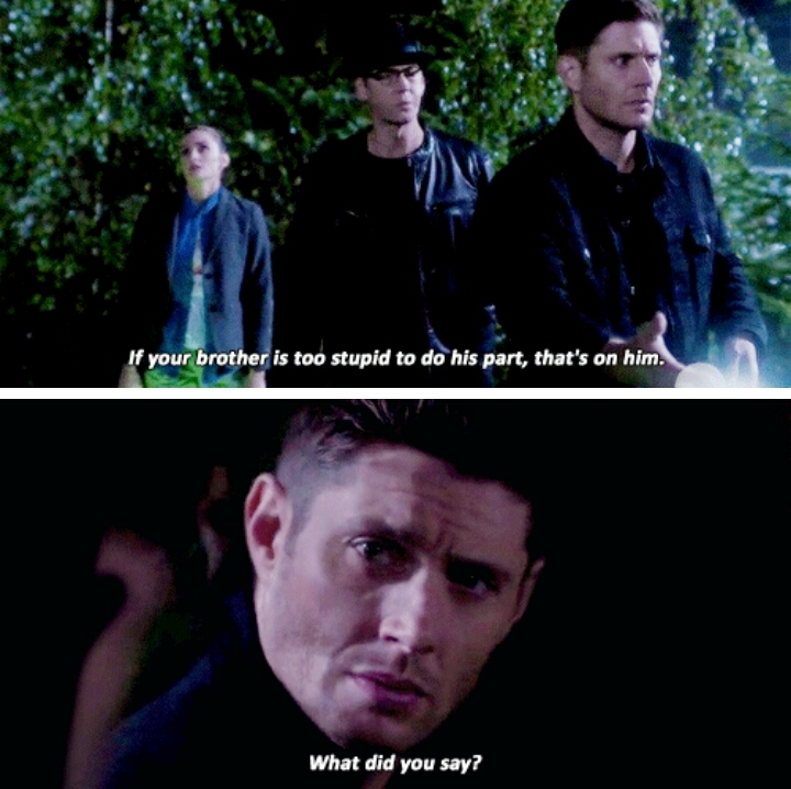 Does he even know Dean Winchester at all