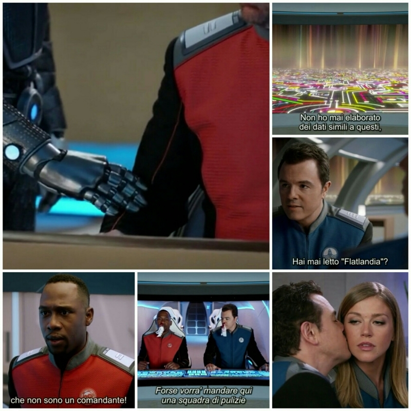 I love everything of this series! What a great episode! It's so serious and so funny at the same time! Great Sci-fi! Amazing characters! Everyone!  Ed❤ Kelly