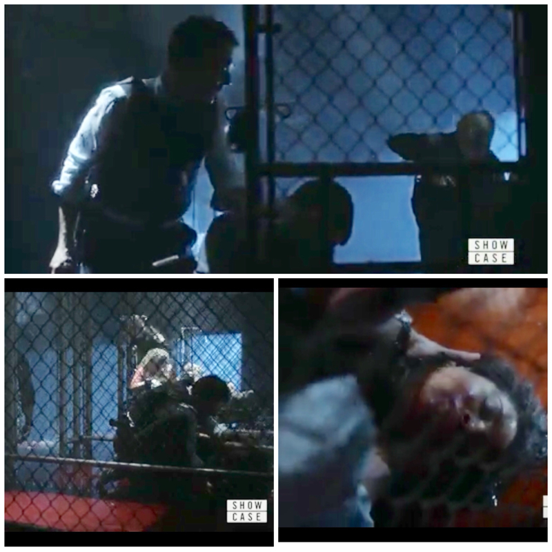 Wow I knew he wouldn't give up until he had his team safe. They had me on the edge of my chair. This episode was so stressful and I loved every min of it.😘😱