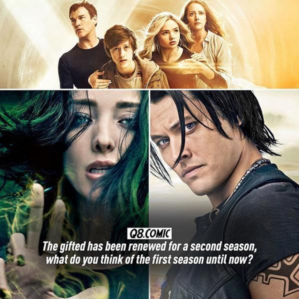 GREAT NEWS: 2nd SEASON IS COMING. The gifted is such a good and enjoyable tv show!! It has a great story. 💚