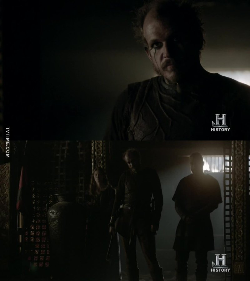 I'm sorry Floki  to think you're a traitor