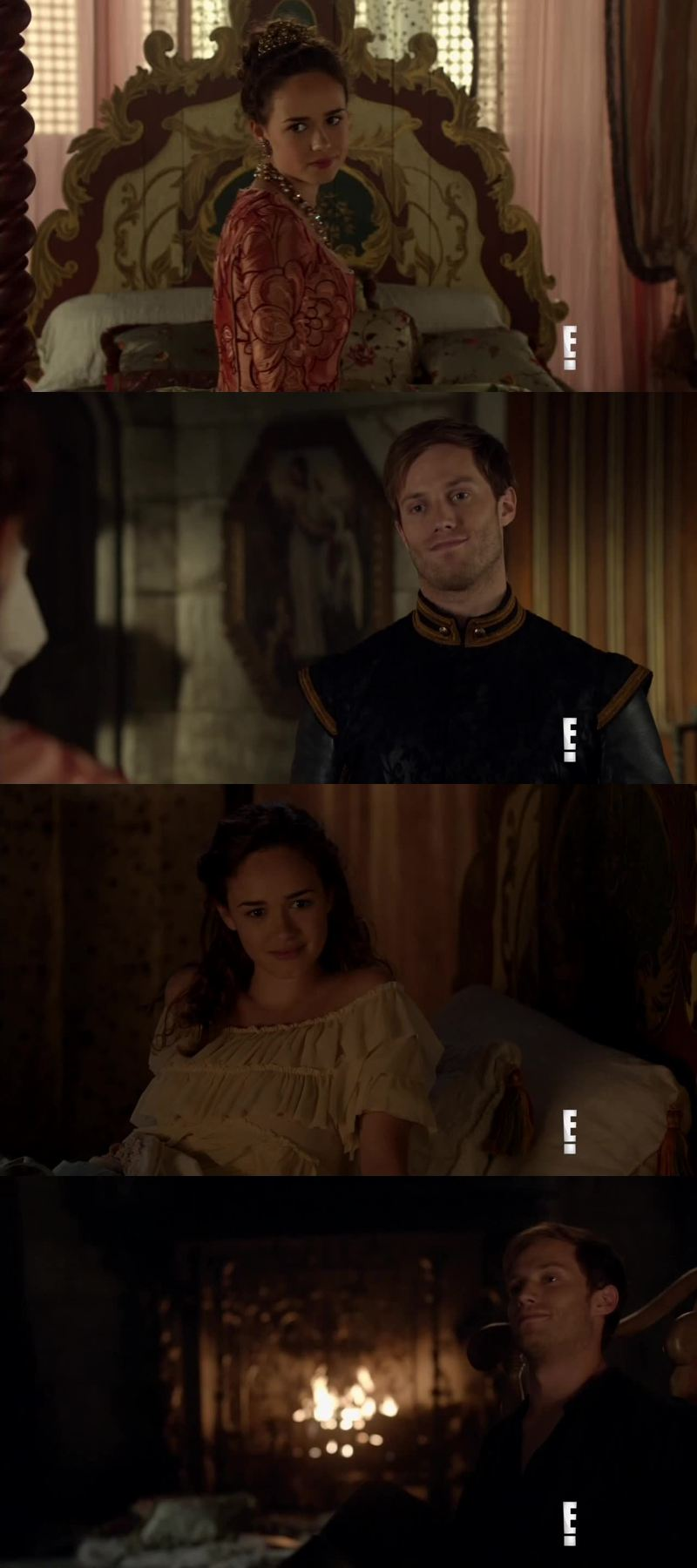 I ship them! I loved Leith and Greer relationship and I absolutely love Greer but she had her chance and she wasted it several times. Leith deserves to be happy and I thing he would make Princess Claude a better person. That's what love is all about...