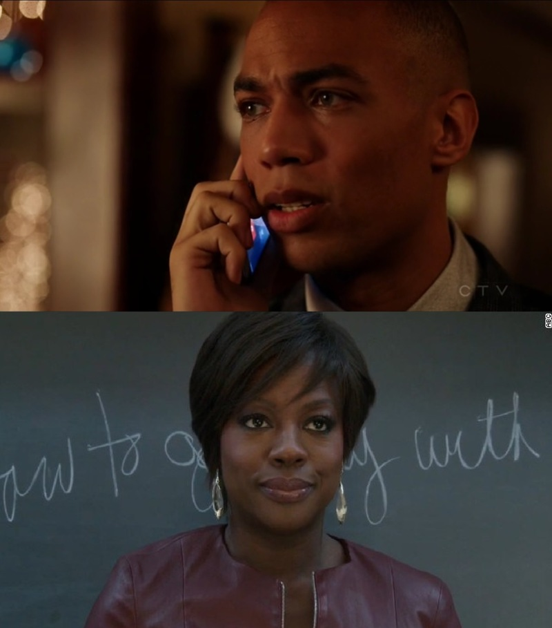 Maybe Barry should have taken classes with Annalise Keating on how to get away with murder since Caleb is in the show now...