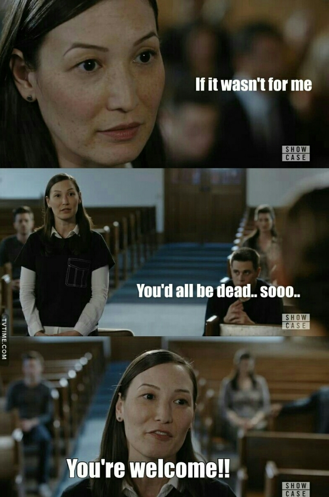 Lol Grace is definitely my #1 favorite character in the show 😍😍😍.