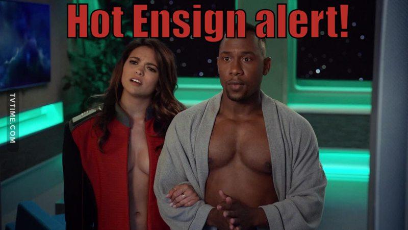 Hot Ensign alert!!