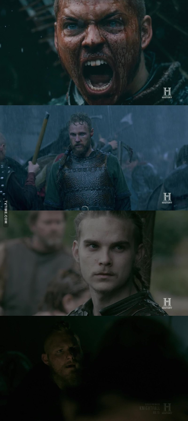 I see a part of Ragnar in all of them