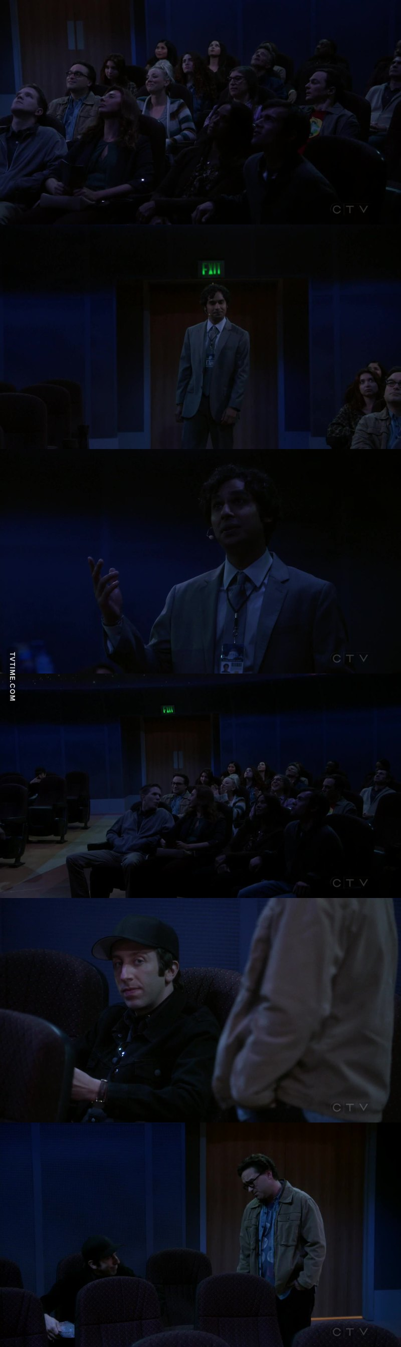 I'm happy for Raj. It actually made me feel bad for Howard but that was sweet to see him like that for once.