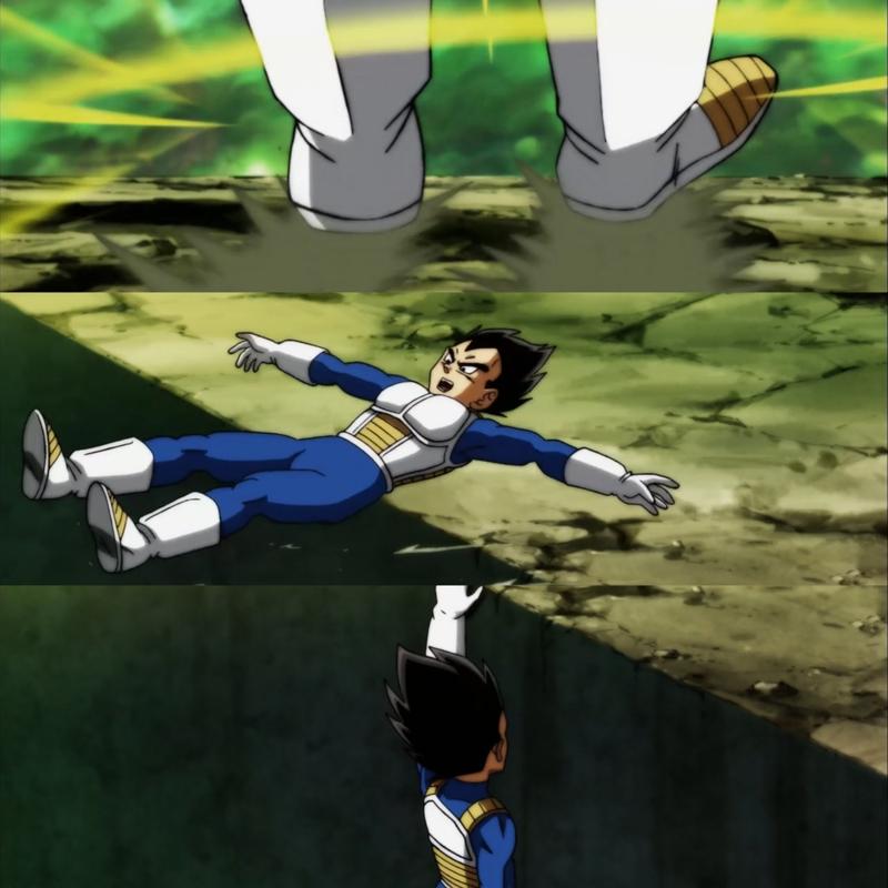 Não consigo parar de rir dessa cena do Vegeta KKKKKKKKK