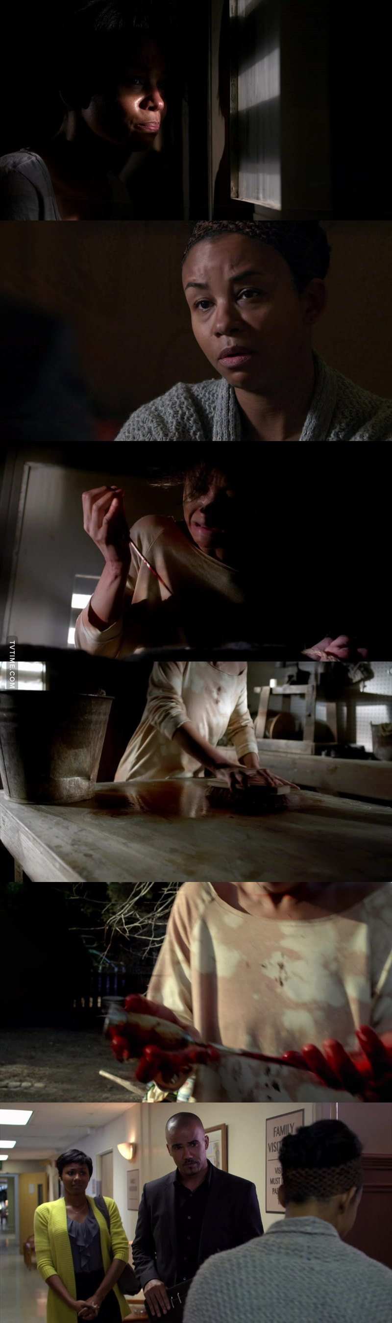 This episode was shocking 😲 I thought she was an innocent victim, I did not think she was the partner😨