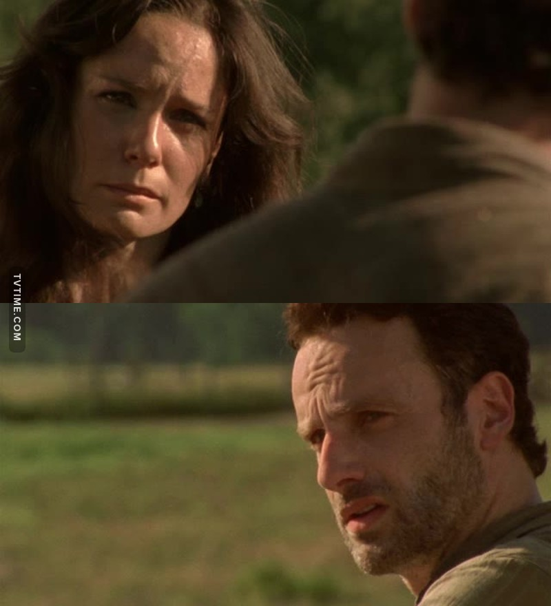 Finally she told him about Shane.