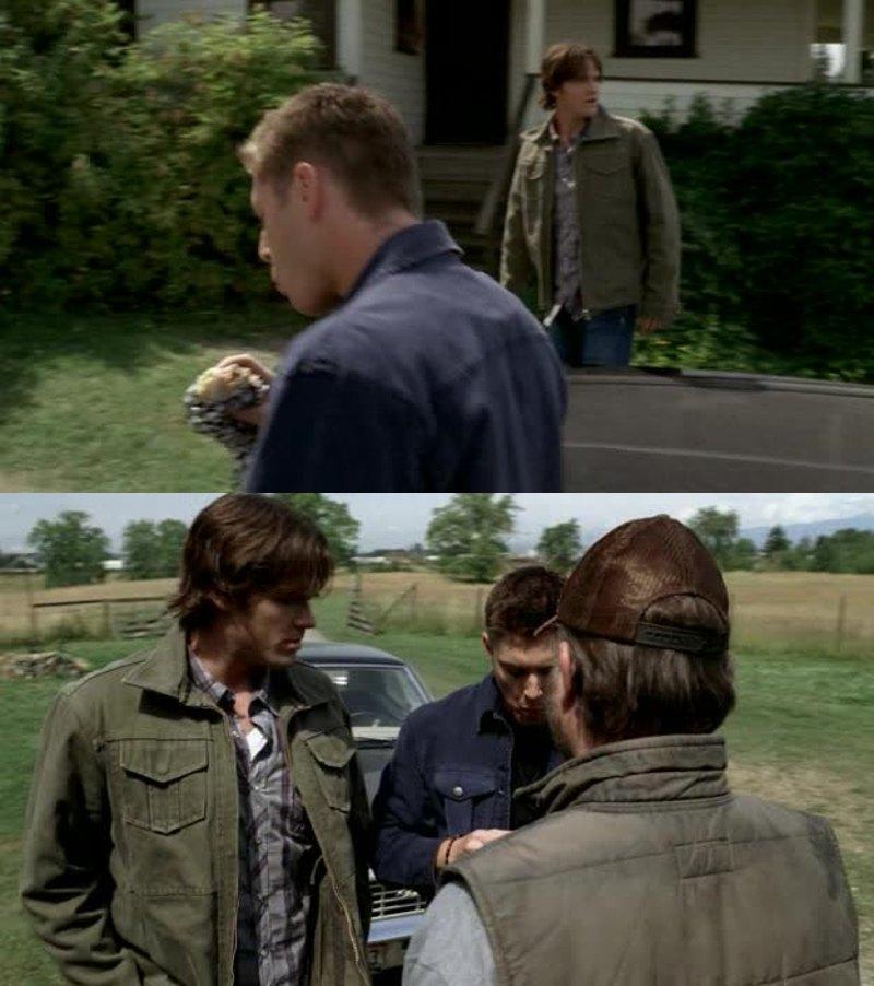 An episode of Supernatural, won't be good if Dean didn't eat! 😂