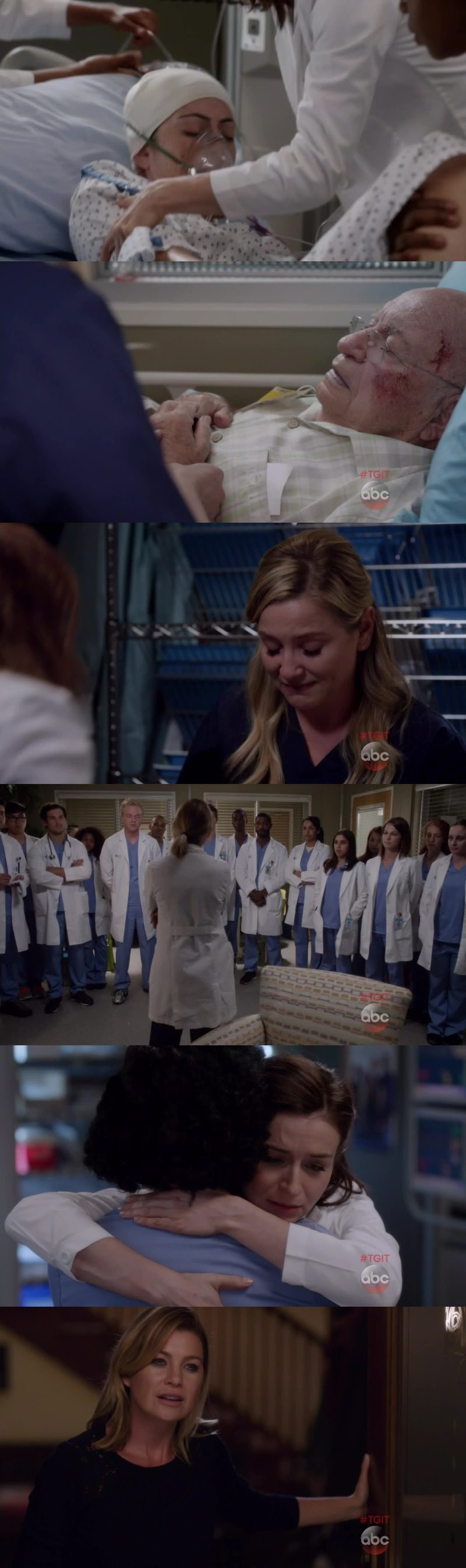 Shonda makes me cry during 80% of this episode :(