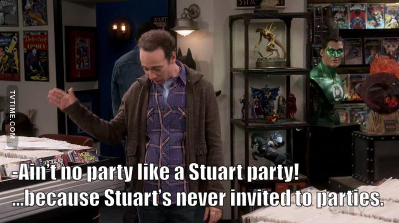 Poor Stuart! 😂😂😂