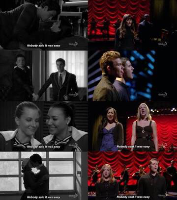 This episode is my favourite. Not because they all break up but because of the emotion and heart break in it. The emotions were real and the songs were amazing and heart felt.