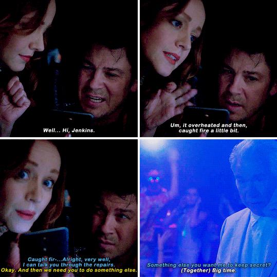 """Cssandra e Jake explicando que o negócio quebrou e pegou fogo """"só um pouco"""" foi engraçado demais hahahaah E o Ezequiel brilhou neste episódio! Adoro quando focam em um deles de vez em quando!"""