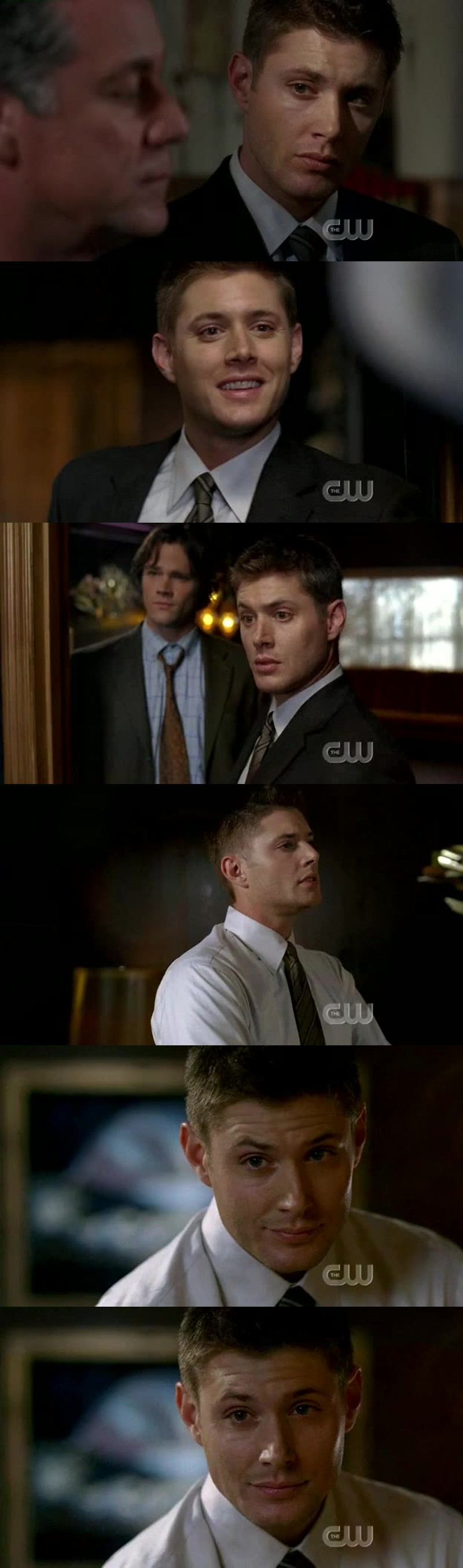 Dean in suit... It's rather hot!!! Like always anyway... 😝😂
