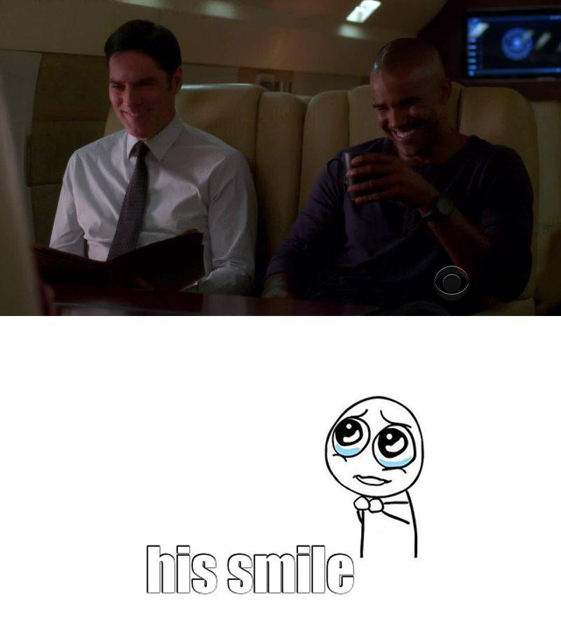 Hotch's smile
