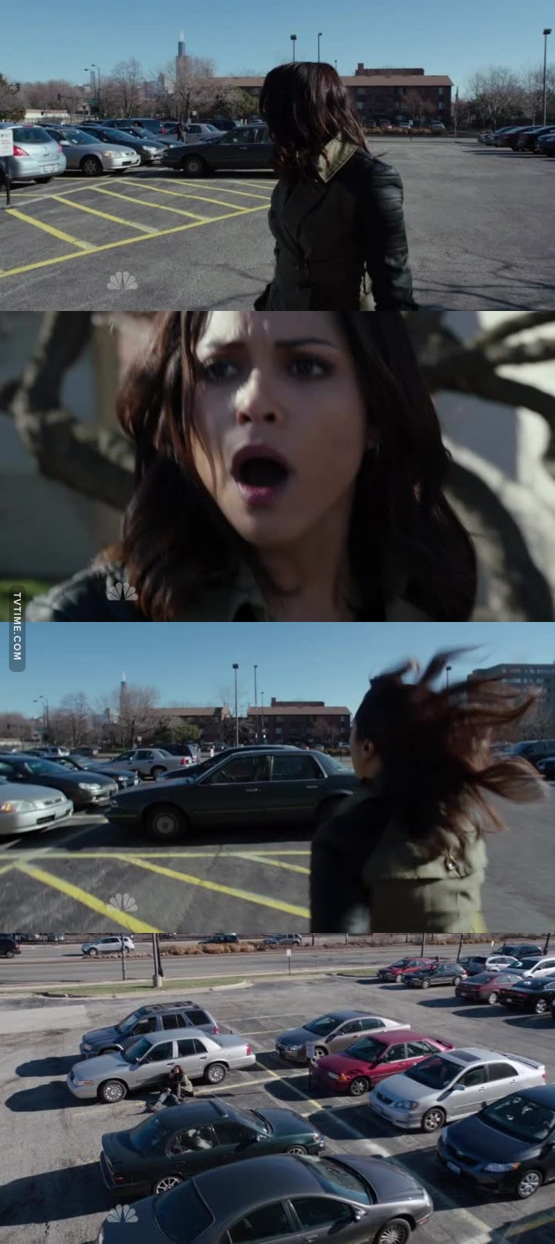 When I saw the car. I learned that