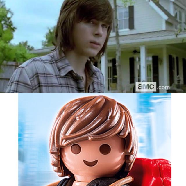 Carl's haircut 😂😂