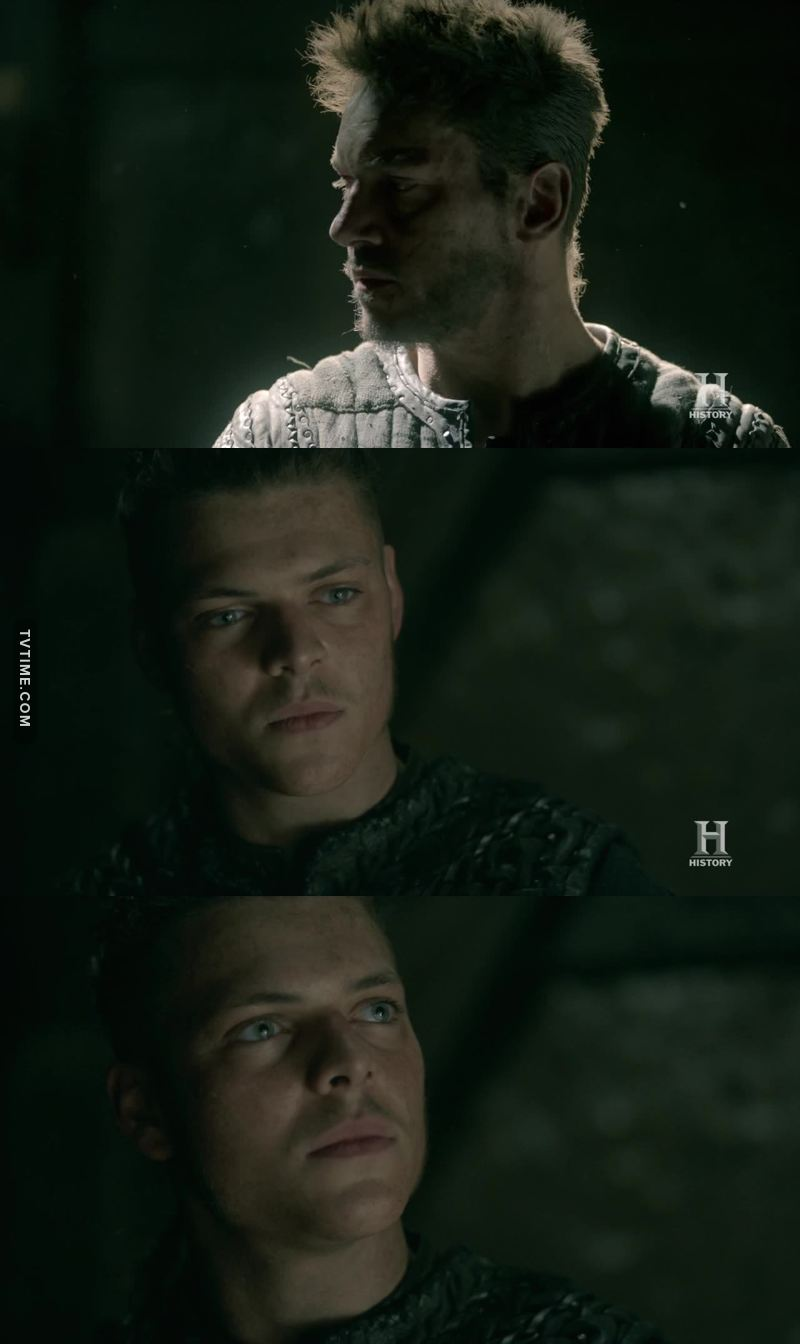 """Why do you offer me this choice?""  ""Because I am jealous of you. I would like to be like you. Strong. An whole. A great warrior. That is why I saved you. And that is why I want you to fight alongside me.""  Poor Ivar 😢"