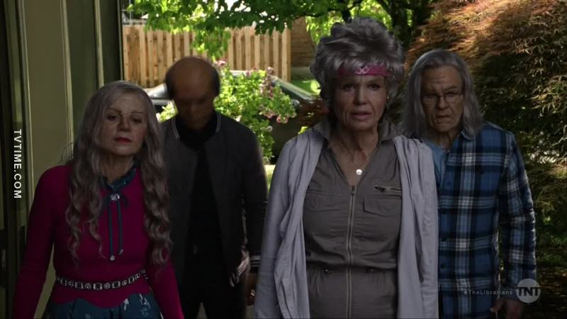 "anyone else thought it was suspicious when the lits + eve showed up looking old, my first thought was ""what? magic that works on ezekiel?"""