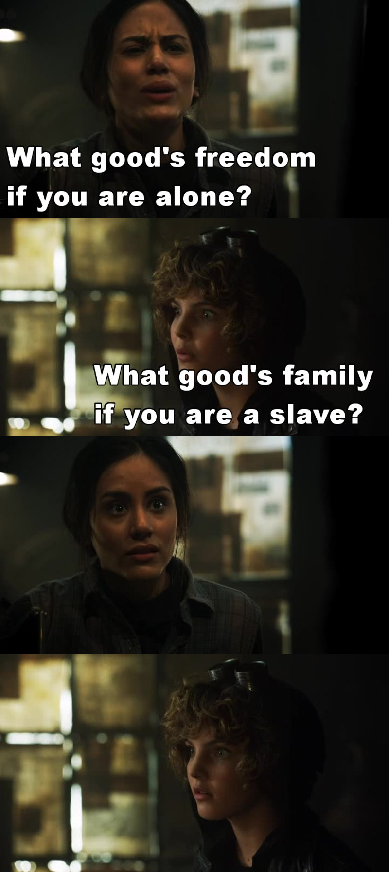 I loved this scene ... And I really love Selina 💕