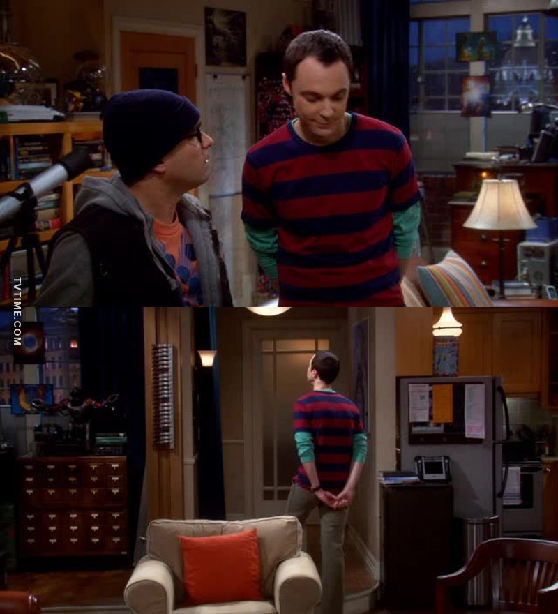 Sheldon mi fa morire! 😂😂😂