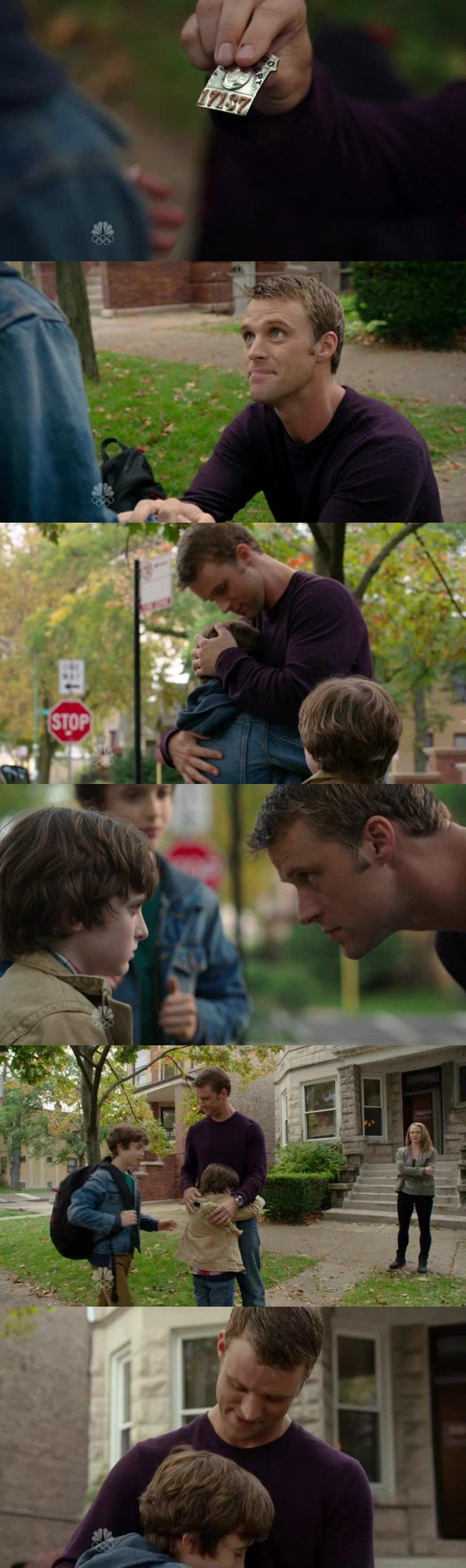 Scène trop trop touchante, je me met à la place de Matthew, j'en avais les larmes aux yeux !!