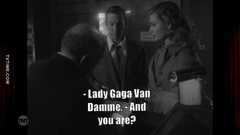 Lady Gaga Van Damme... 😂