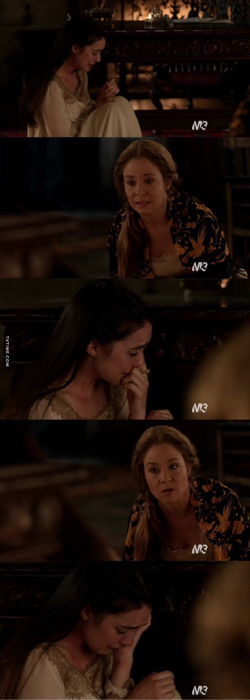 I'm so impressed about everything. Adelaide is such an amazing actress, she represented so well an awful human condition. This moment between Catherine and Mary was beautiful, I mean, she gave to Mary the strength she deserved and I'm sure she would come over everything. I cried so much, she deserved so much better.