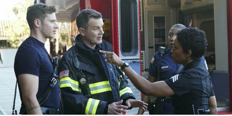 Wow I knew this show was going to be good but WOWWW!!!  This showed every side firefighters,  police,  and dispatcher.    -he was really like mannn f#*@ her,  you see what she did to this baby.   - then Angela Bassett rolled up on him like Dude I'll bust a cap in your A** if you ever try me like that again.  Lmbo        #thismyfaveshownow       #thisshowisreal
