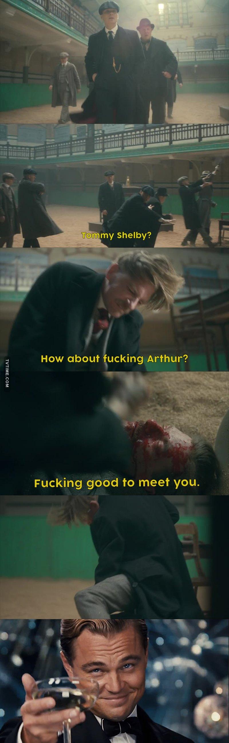 Good work Arthur 😂😂😂😂