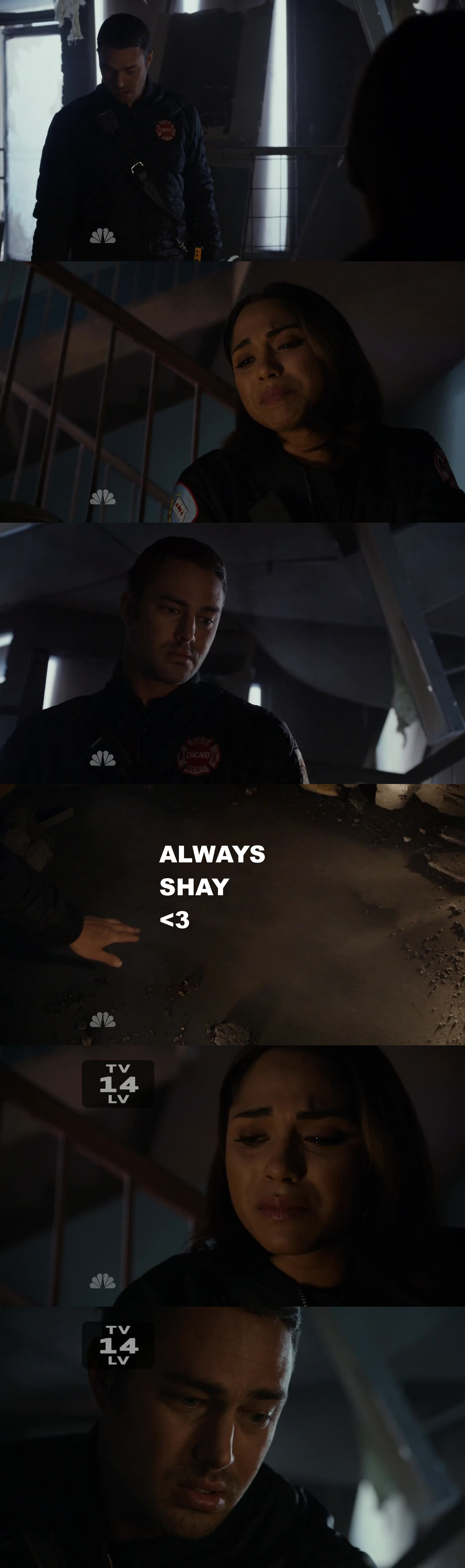 THAT WAS SO HURTFUL, I ALMOST BURST INTO TEARS :'( <3 I miss SHAY soooo much :(