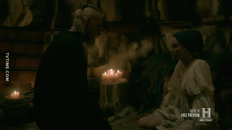 remember when the seer told ragnar that bjorn will marry daughter of a king?