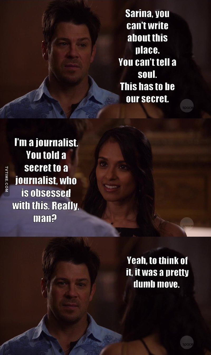 Seriously, Jake? That's the dumbest thing you could have done.