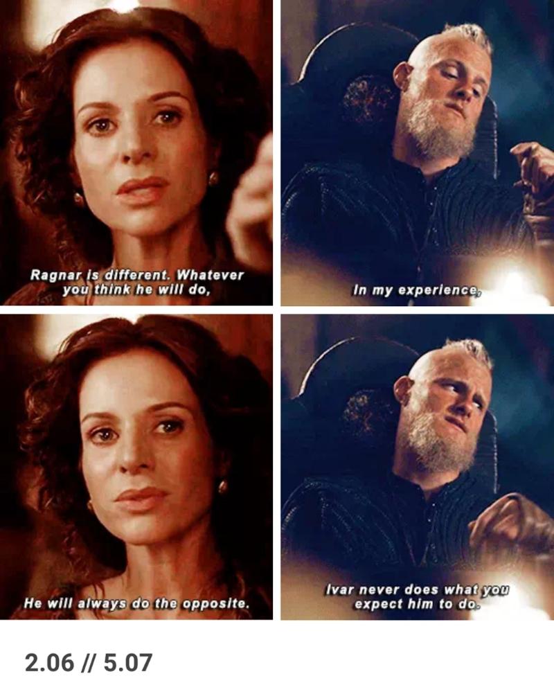 Ivar is like Ragnar