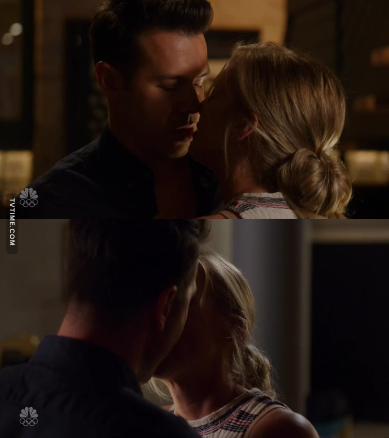"""""""I've have to tell you something"""" *kisses him* Loved it!!!! Love them!!!"""