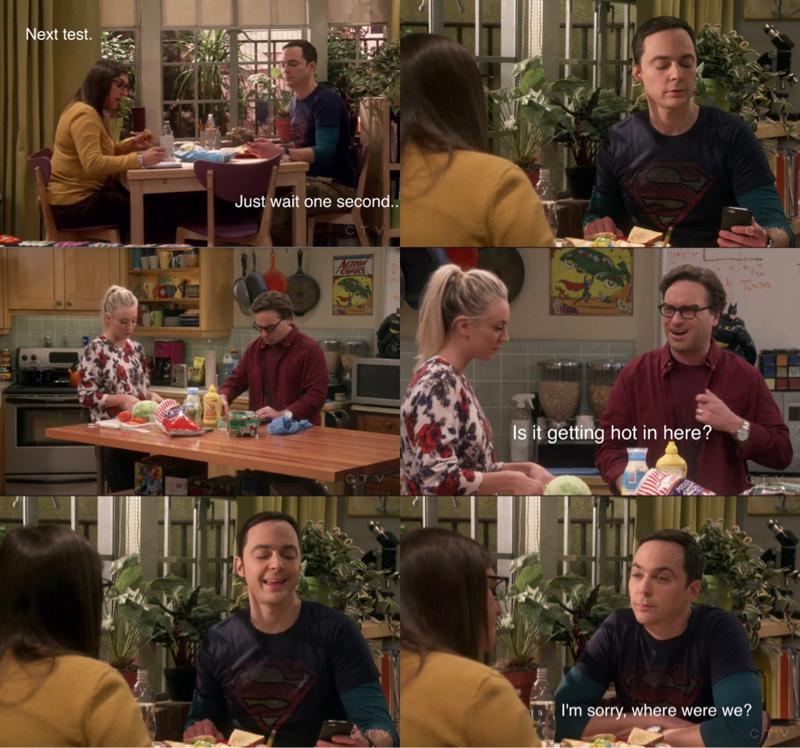 Sheldon's laugh tho 😂