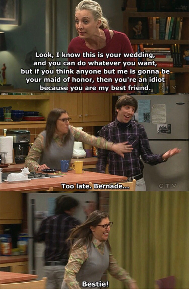 This killed me 😂😂😂 Fave scene! Howard's face was priceless! 😂