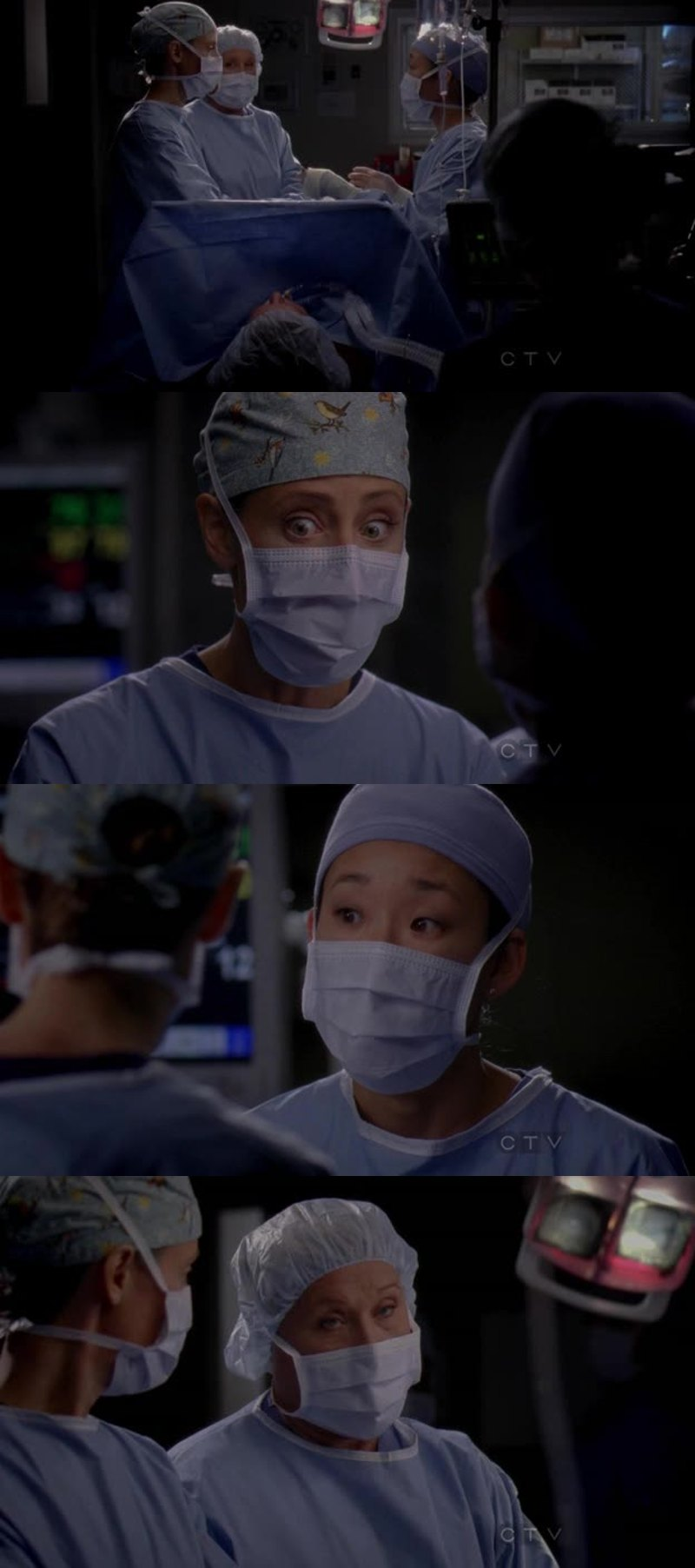 Ah ah 😂 Teddy and Cristina 😁