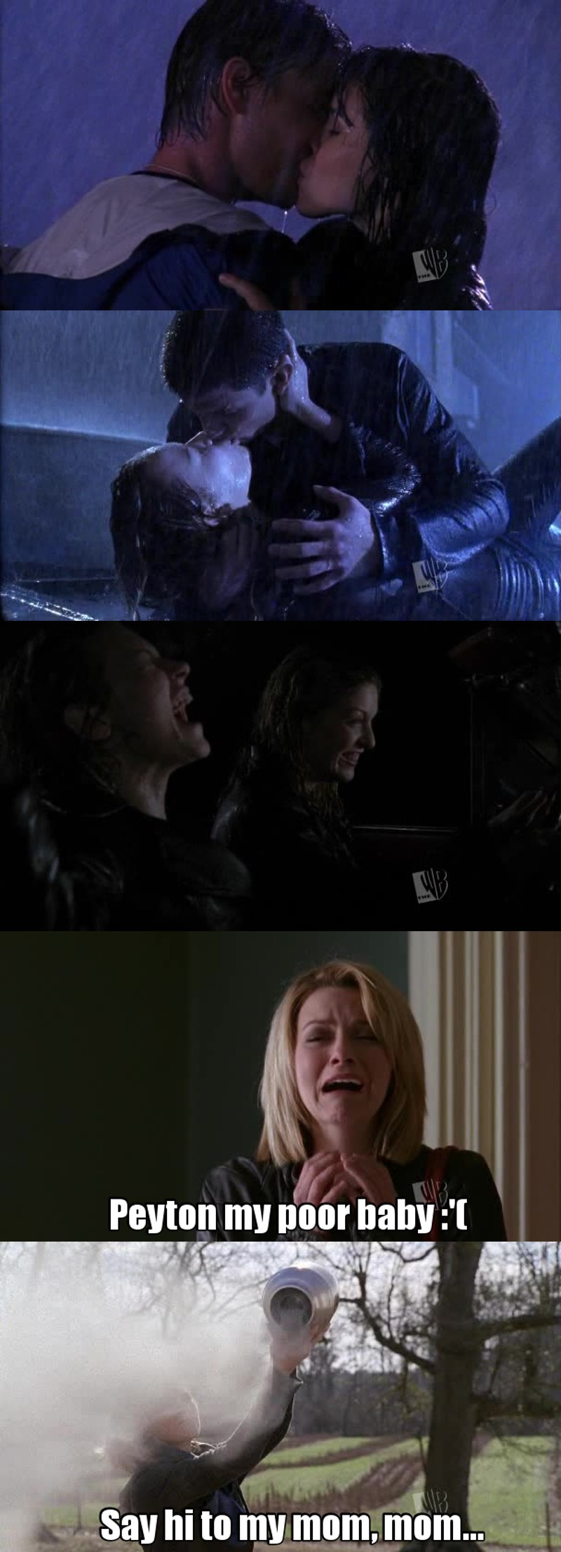 What a GREAT episode ! The moments with the rain were so beautiful ! And the two Peyton's scenes at the end when she discover Ellie, and when she says her last quote, it was heartbreaking !
