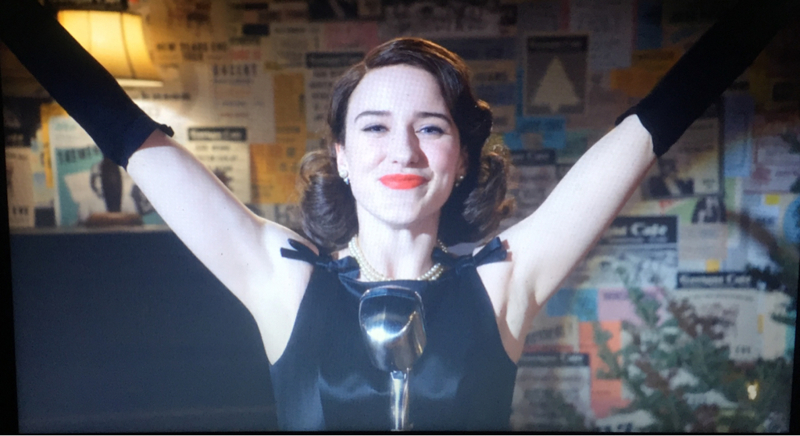 """My name is Mrs. Maisel, thank you and good night""  What a wonderful season finale!! Strong ending that matched the pilot in a beautiful symmetry. This show totally deserved to win two Golden Globes.. and Rachel's acting was phenomenal.  I can't wait for season 2 😍"