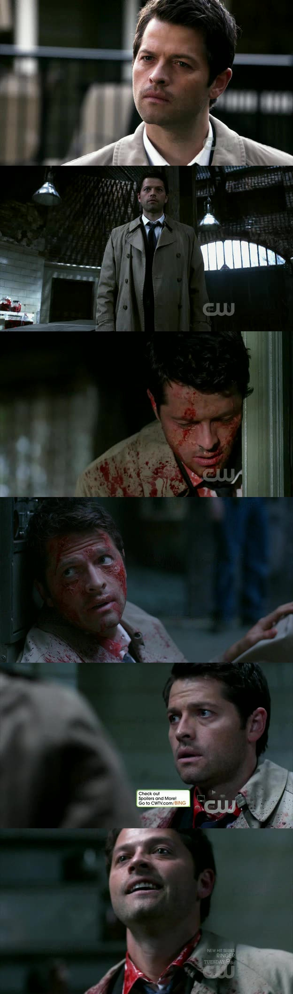 conspiring Cas..God..Gos needs help..Cas asking for forgiveness..Castiel.. Leviathans..all of them played by the only Misha Collins!! *.*