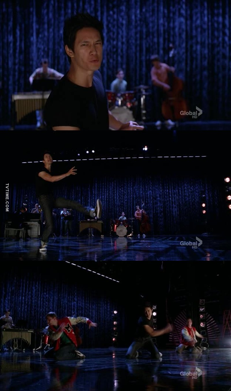 His voice, his dance Everything was perfect!