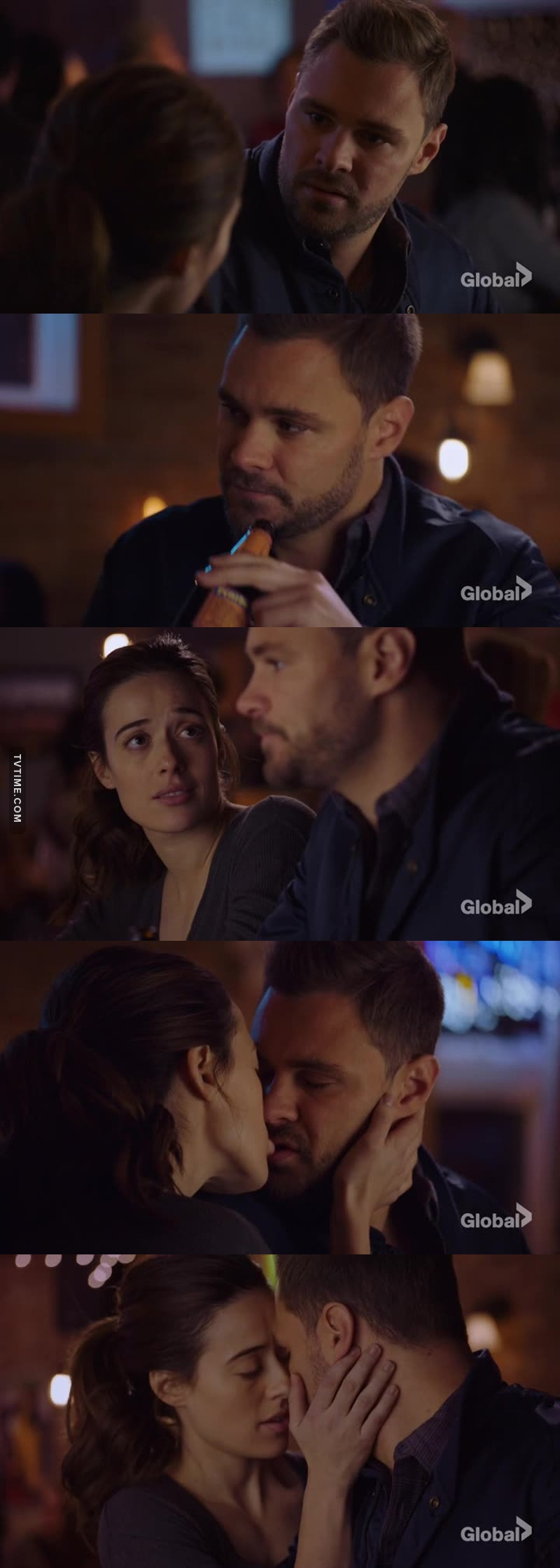 I missed Burzek so much ‼️ I can't believe they kissed again.