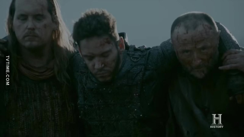 One thing this series wants to show us is Vikings liked to pet English Priests 🤔