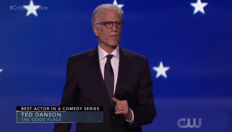 Ted Danson wins Best Actor in a Comedy Series