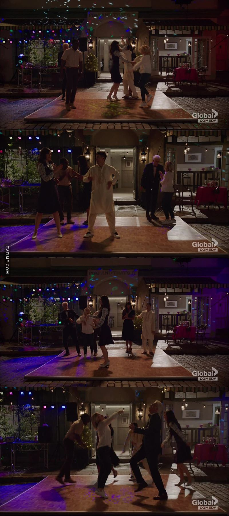 Did you noticed how Jason was getting new shoes depending on how he was dancing?!