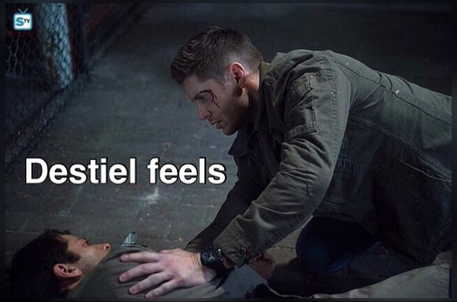OH my Destiel feelings ❤️